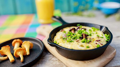 Schnelles Paleo-Gericht: Gemüse-Frittata