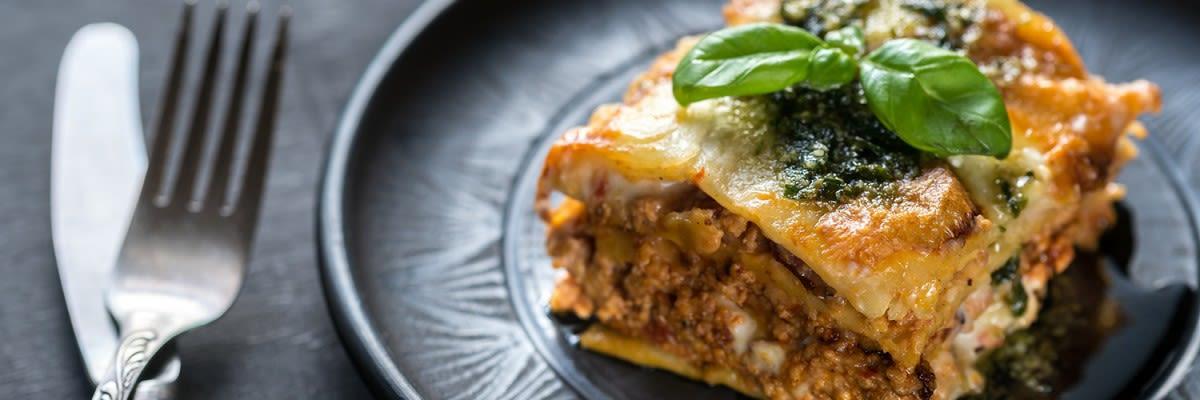 Laktosefreie Lasagne