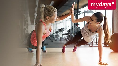 Top-5-Aktivitäten für Fitness-Junkies bei mydays