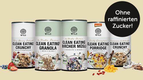 Clean Eating mit WYLD - reueloser Genuss!