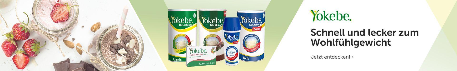 Schnell und lecker zum Wohlfühlgewicht mit Yokebe