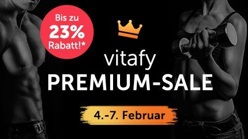 Mit vitafy im Premium-Sale exklusive Rabatte sichern!