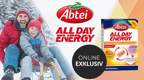 Abtei All Day Energy - Für Leistungsfähigkeit den ganzen Tag