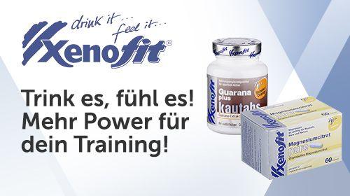 Xenofit - Trink es, fühl es! Mehr Power für dein Training!