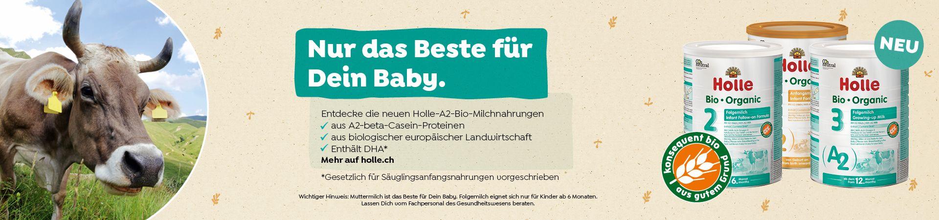 A2 Bio-Anfangsmilch 1, von Geburt an (800g) A2 Bio-Folgemilch 2, nach dem 6. Monat (800g) A2 Bio-Folgemilch 3, ab dem 12. Monat (800g) Bio Siegel