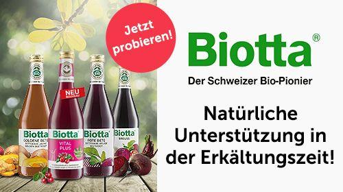 Biotta - Natürlicher Genuss in der kalten Jahreszeit
