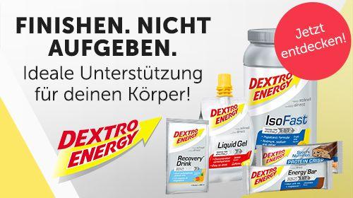 Dextro Energy - Ideale Unterstützung vor, während und nach dem Sport!