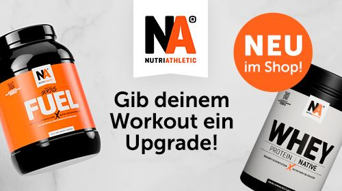 NUTRIATHLETIC® - Supplements ganz ohne Bullshit!