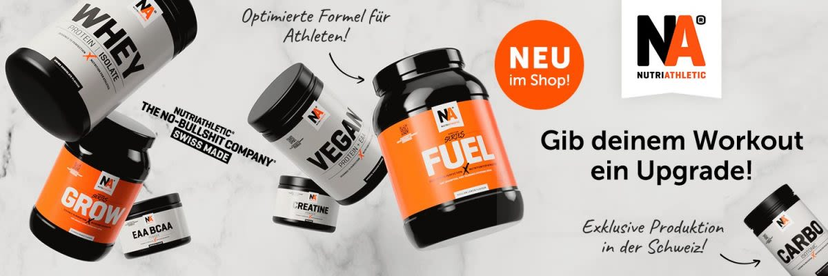 NutriAthletic - Gib deinem Workout ein Upgrade!