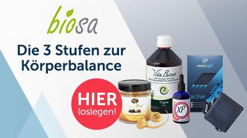 Biosa – Deine Kraftquelle für jeden Tag