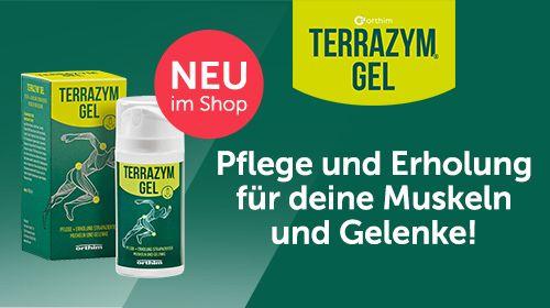 Terrazym® Gel von orthim - Optimale Pflege für deine strapazierten Muskeln und Gelenke!