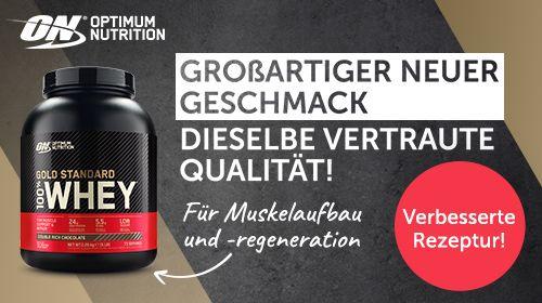 Optimum Nutrition im neuen Design mit verbesserter Rezeptur!