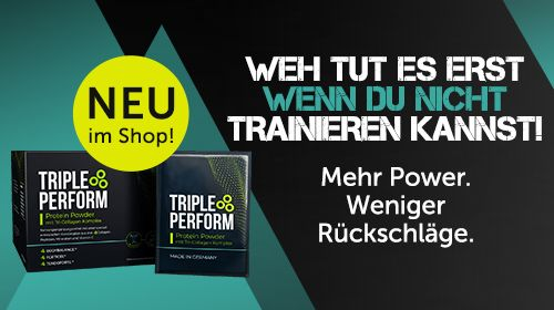 TRIPLE PERFORM - Protein Powder mit Tri-Collagen Komplex