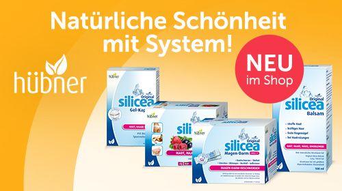 Gesund und schön mit Hübner Original silicea®!