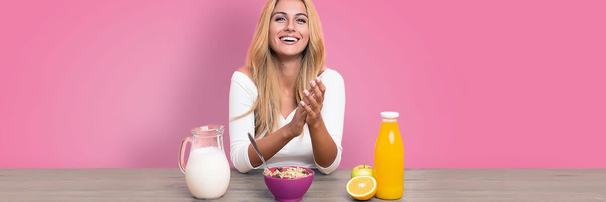 Diät, um Muskelkraft zu gewinnen