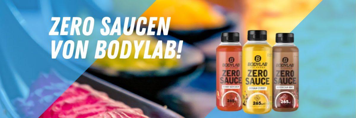 Zero Saucen bei Bodylab