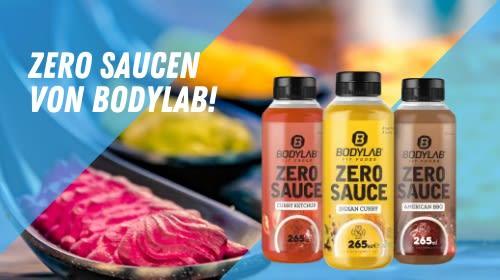 Zero Saucen für eine fitnessgerechte Ernährung