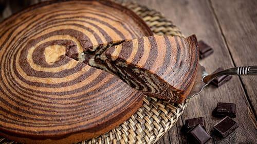 Copy of LowCarb Zebrakuchen ohne Boden