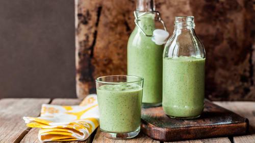 Groene Smoothie met Whey