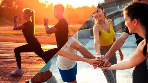 Deel 2 van Fitnessweek 3 - voor beginners