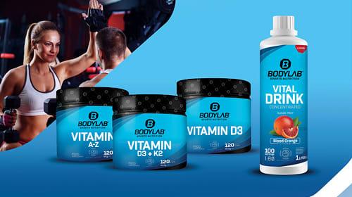 Nieuwe vitaminesupplementen bij Bodylab!