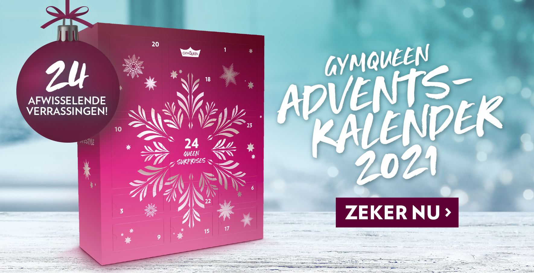 Treat yourself with our brand new christmas calender - 24 tasty surprises!