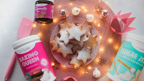 Plätzchen: Weihnachtlich, Low Carb & High Protein