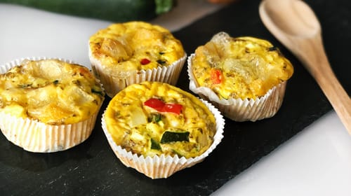 Silvester-Fingerfood: Pikante Muffins