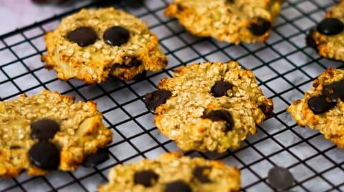 Bananen-Schoko-Cookies