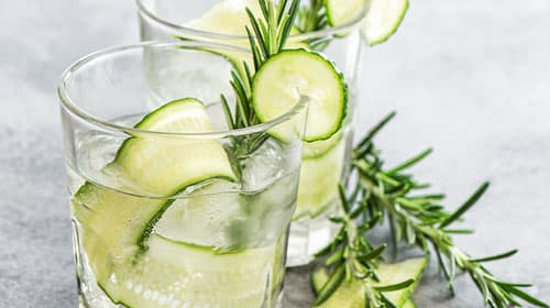Infused Green Water