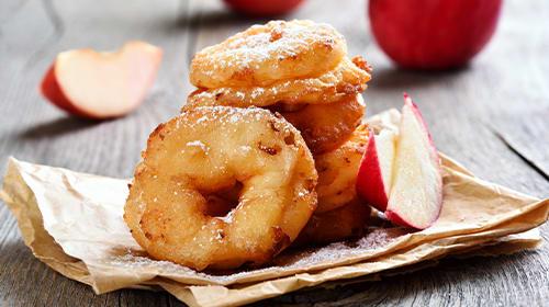 Saftige Protein-Apfelküchle