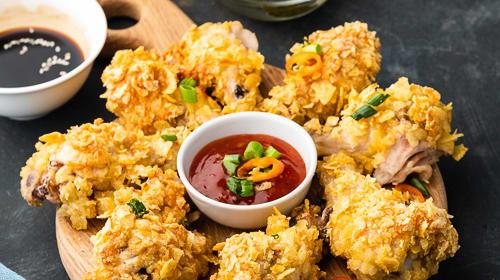 Knuspriges Hühnchen mit Sweet Thai Chilli Sauce