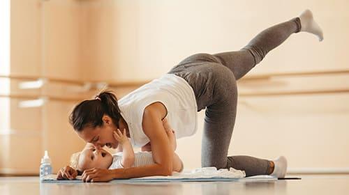 Sport mit Baby - Gemeinsam fit