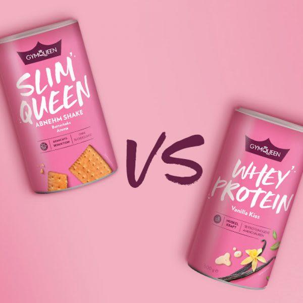 Slim Queen vs. Whey Protein