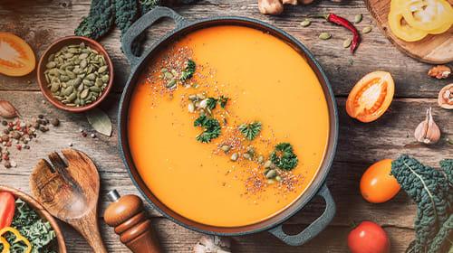 Kürbissuppe: Gesunde Kraftnahrung für den Herbst