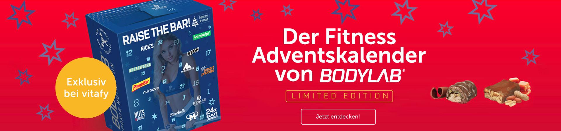 Sichere dir jetzt den Bodylab Fitness Adventskalender, exklusiv mit Early Bird Discount!