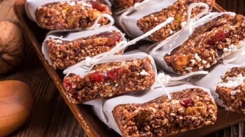 Veganer Superfood-Goji-Riegel to go