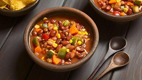 Feuriges Chili sin carne