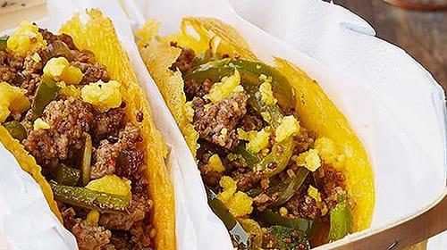 Low Carb Fajita-Tacos