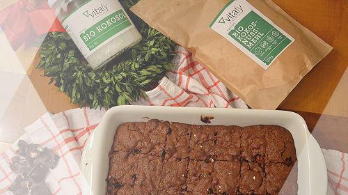 Saftige glutenfreie Schoko-Walnuss-Brownies