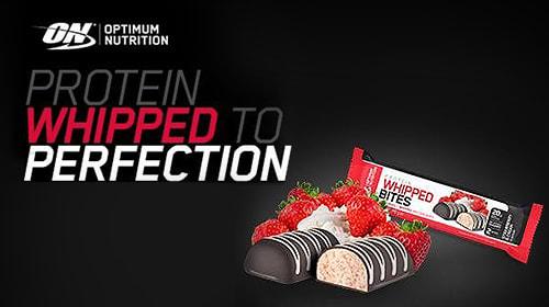 Optimum Nutrition Protein Whipped Bites - Luftig leichte Protein-Power für unterwegs