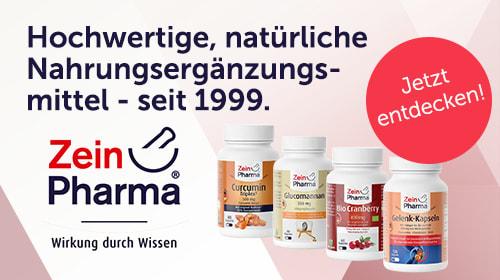 ZeinPharma - Natürliche Nahrungsergänzungsmittel seit 1999.