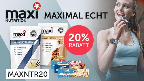 Maxi Nutrition - Maximal echt