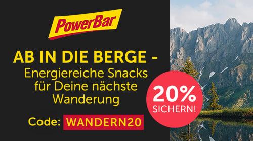 Energie für deinen Wandersommer 2021 mit PowerBar